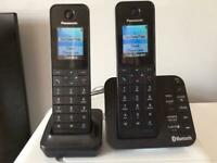 Panasonic KX-TGH262E home phone set (that you can answer your mobile on)