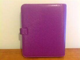 New Raspberry Saffiano Filofax A5 Organiser / Diary - with extras!