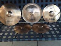 Zildjian zbt Cymbal set vgc