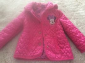 Girls Quilted Jacket Age 2-3