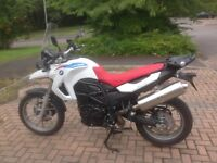 2010 BMW F650GS Motorcycle in BMW Sport Colours