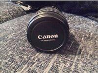 Canon 15 - 85mm lens