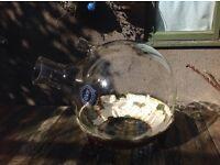 QVF borosilicate, Pyrex, Corning glass, science Laboratory glassware, 50L valve distillation, bong
