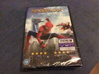 Spider-man Homecoming BRAND NEW DVD