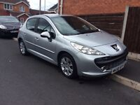 PEUGEOT SPORT 1.6 TDI Hatchback Diesel Manual 2008 Full hISTROY 12 Mouth mot miles 57000
