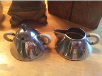 Alessi milk and sugar bowl