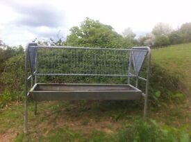 Hay Rack. portable horse or cattle hay rack adjustable legs. £220 ono.