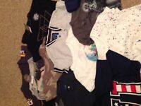 BUNDLE OF BOYS TOPS AND T-SHIRTS - AGE 3/4 Years