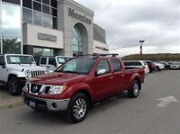 2012 Nissan Frontier SL, One Owner, Leather, Sunroof, 4x4, Clean