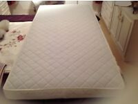 COT BED MATRESS & BEDDING IMMACULATE CONDITION