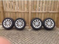 """Audi Q5 17"""" Alloy Wheels and Tyres (5)"""