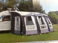 Caravan air awning, Kampa Air Ace 400- flagship model with bed tent,.