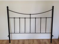 Metal king size double bed frame