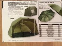 diawa mission overnighter brolly