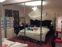 4 mirrored wardrobe doors