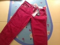 Red jeans Women's Girls Size 10 Brand new Skinny Fabulous