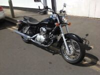 HONDA VT 125 SHADOW 1 OWNER ONLY 90 MILES FROM NEW YES 90 MILES LOVELY MOTORCYCLE