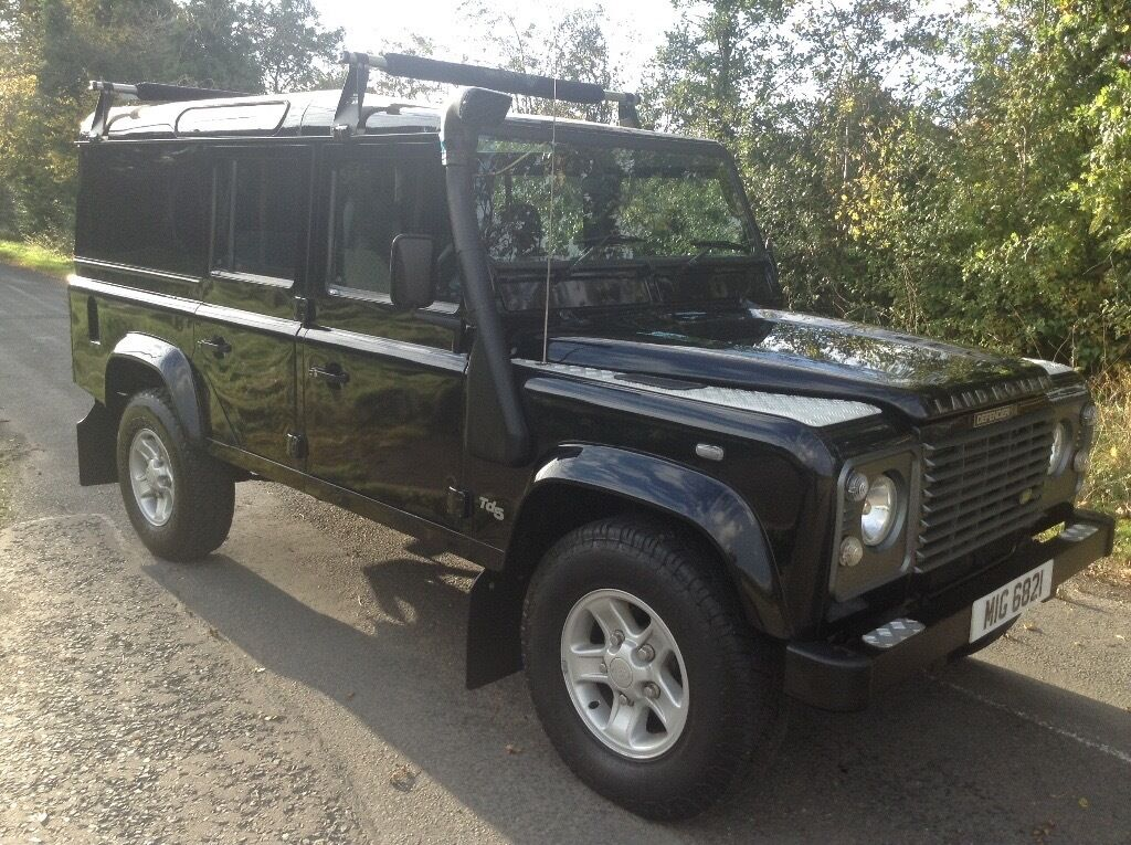 2003 Land Rover Defender 110 County Factory Utility Td5