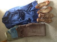 Bundle of ladies clothing and shoes size 14 & shoes 5