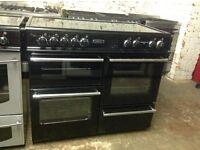 Leisure 100 ceramic black cooker