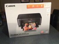 Canon printer and ink, brand new, still in box, never opened, excellent Christmas present