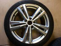 "Audi 18"" alloys + tyres"