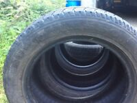 Winter tyres for car. A set of four winter tyres, Nexen Eurowin 215/55R16 97H