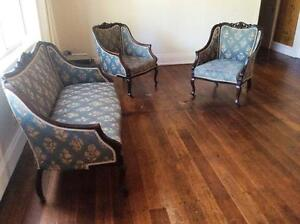 Beautiful Rosewood Antique Lounge Suite 3 piece Prospect Vale Meander Valley Preview