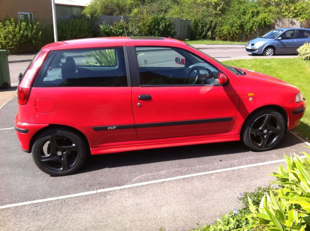 fiat punto gt turbo in corby northamptonshire gumtree. Black Bedroom Furniture Sets. Home Design Ideas