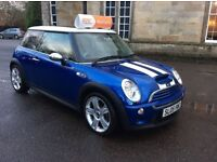 !! HYPER BLUE MINI COOPER S IN MINT CONDITION 05 PLATE !!