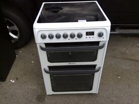Cookers hot point ceramic cooker60 cm