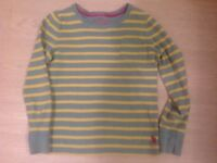 Boden girls long sleeved t shirt age 6-7 years