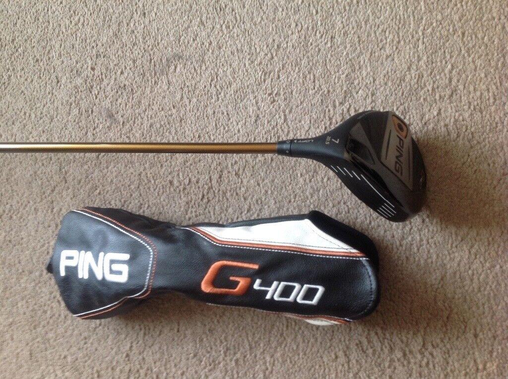 PING G400 7 Wood. Regular Alta CB Shaft, Used
