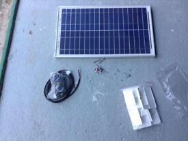 Caravan solar panel