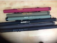 Selection of new fly rods