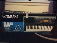 Amazing condition- Yamaha keyboard with stand and stool all for only £170.