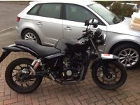 Ajs nac 12 black 125cc motorcycle £900