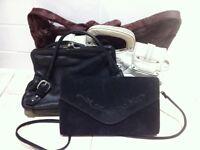 4 Real Leather Women's Handbags GAP BillaBong Vintage