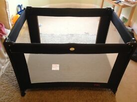 Red kite travel cot and separate mattress and sheet