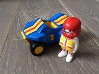Playmobil 1.2.3 Series Racing Car