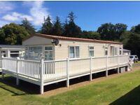 FOR SALE - STATIC CARAVAN 36'x12' Witton Castle Country Park