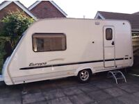 Sterling Europa 460 touring caravan (2006) for sale