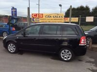 Vauxhall zafira elite 1.7 turbo diesel 7 seater ful leather 62000 fsh ful mot mint family car