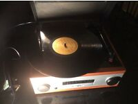 Derens vintage record player