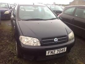 2004 FIAT PUNTO ACTIVE 8V 1.2 PETROL BREAKING FOR PARTS ONLY POSTAGE AVAILABLE NATIONWIDE