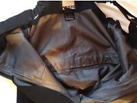 Men's Musto HPX OCEAN TECHNOLOGY Saloppetes. Size medium in black. Worn twice, top quality, bargain.