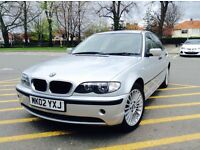 2002 BMW 316 SE (1895cc) superb driving saloon mechanically sound no issues