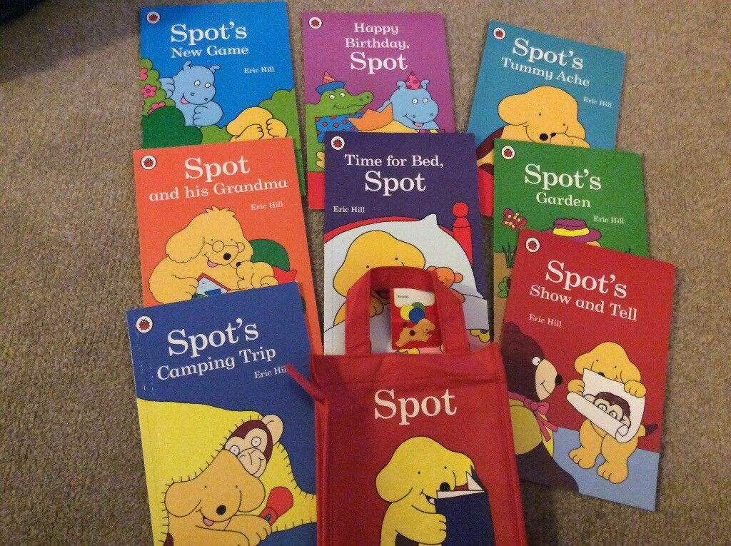 Bag of spot books by eric hill