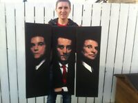 Original paintings of the famous Goodfellas trio.