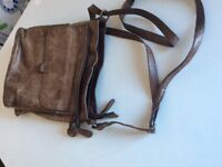 Leather John Lewis hand bag